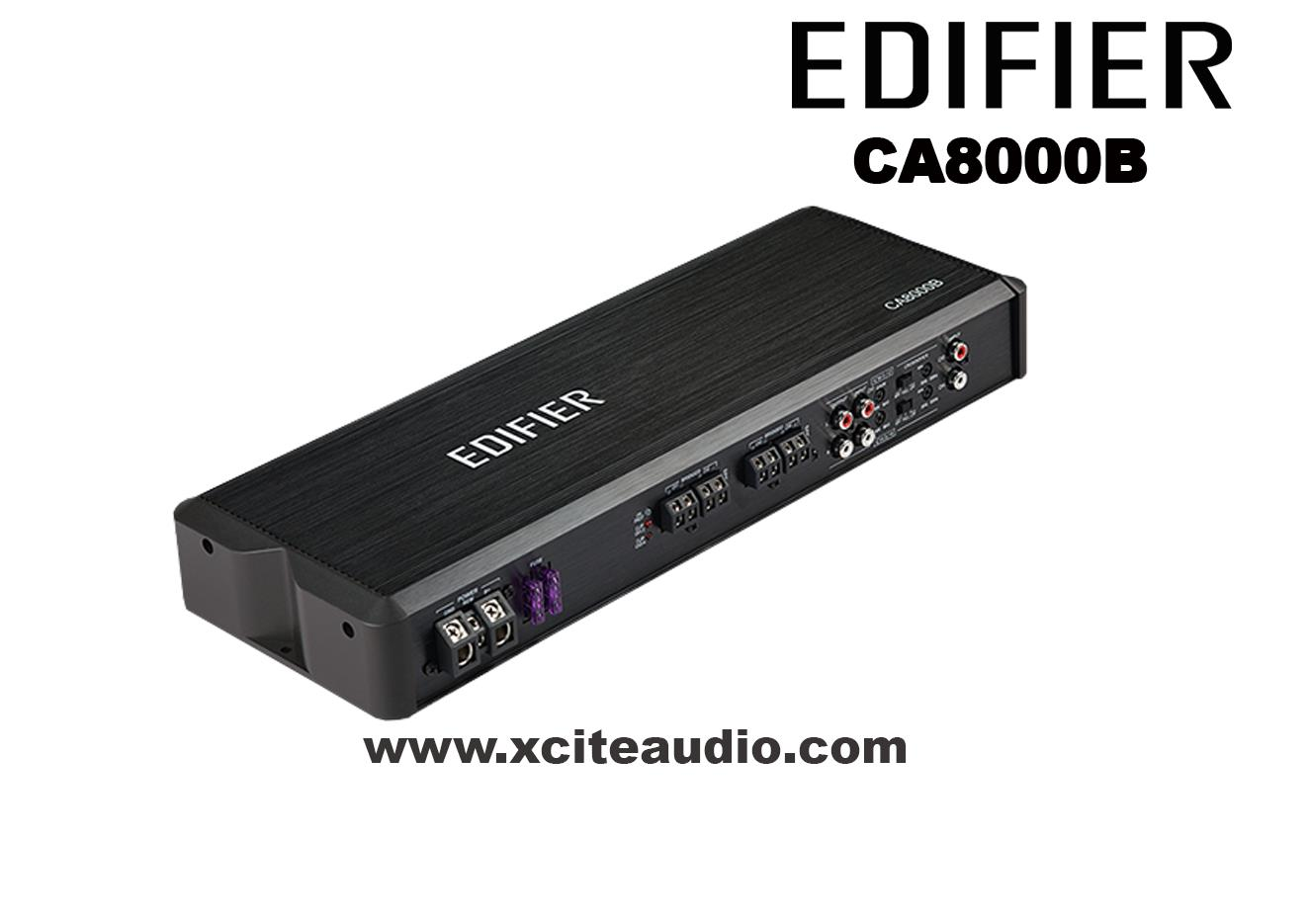 Edifier CA8000B Powerful Class-AB 4-Channel Car Amplifier