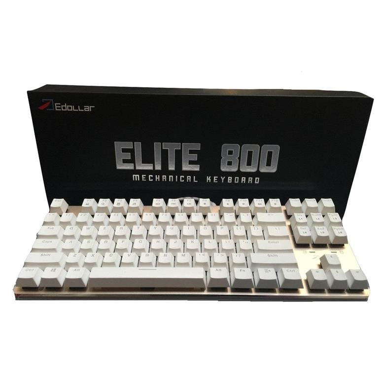 Edollar Elite 800 Mechanical Keyboard with LED Light Free Shipping