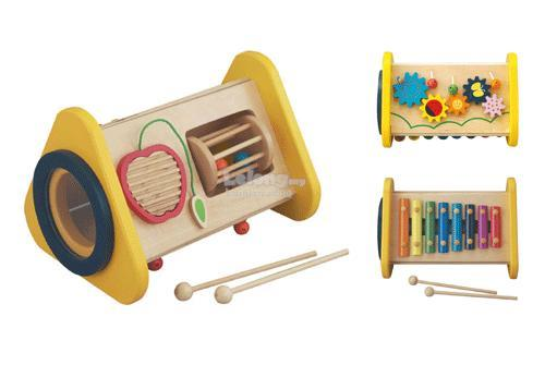 Educational Wooden Toys - 3 IN 1 TRIANGLE SYMPHONY