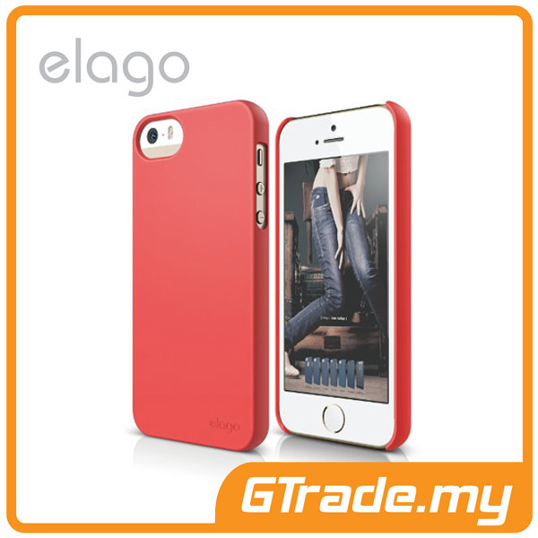 ELAGO S5 Slim Fit 2 Case | Apple iPhone 5S 5 - Soft Rose