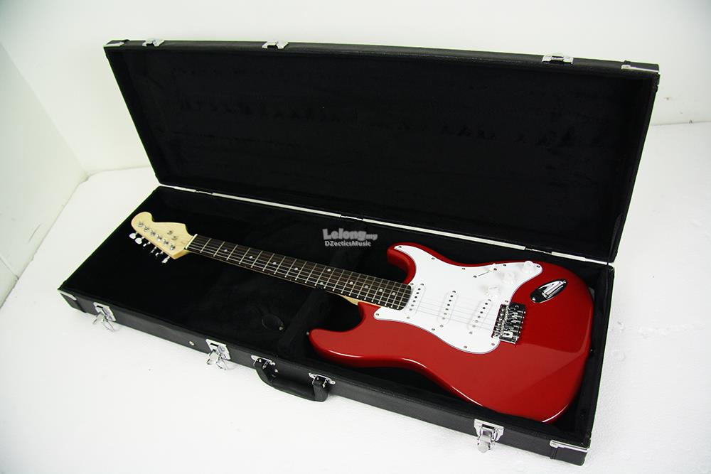 Electric Guitar Hard Case bag with Key lock