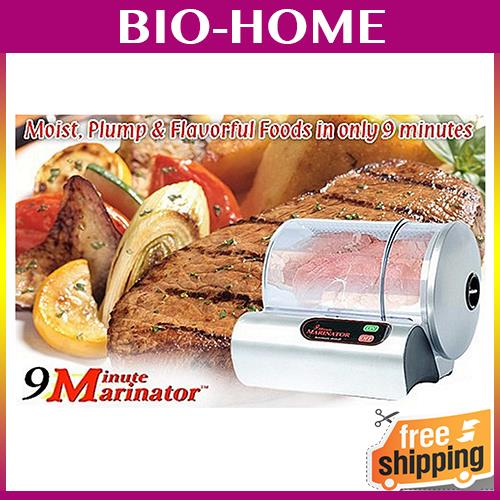 Electric Marinator ELECTRONIC COOKWARE MARINATE MEAT SLICE FOOD EASILY