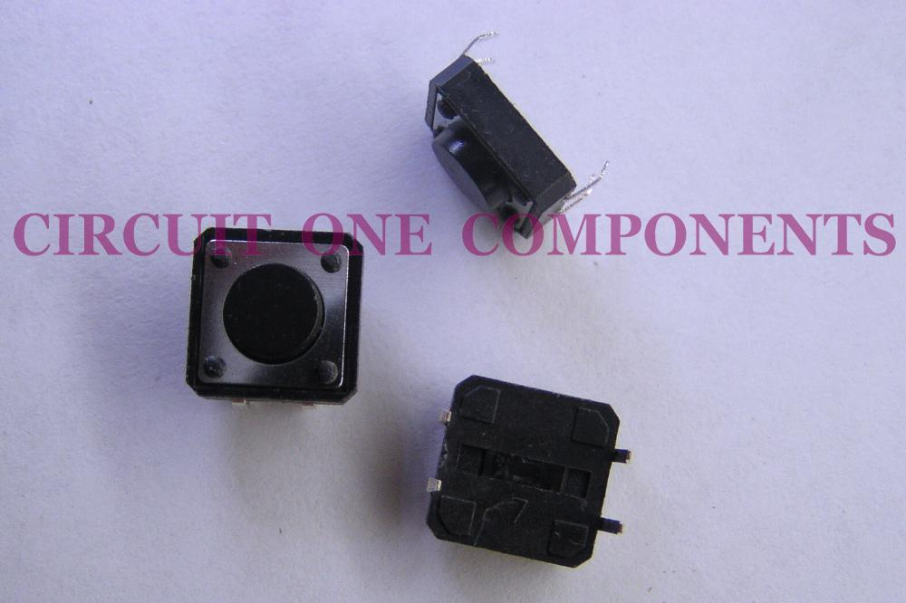 Electronic Component 12x12x5mm Tact Switch - each