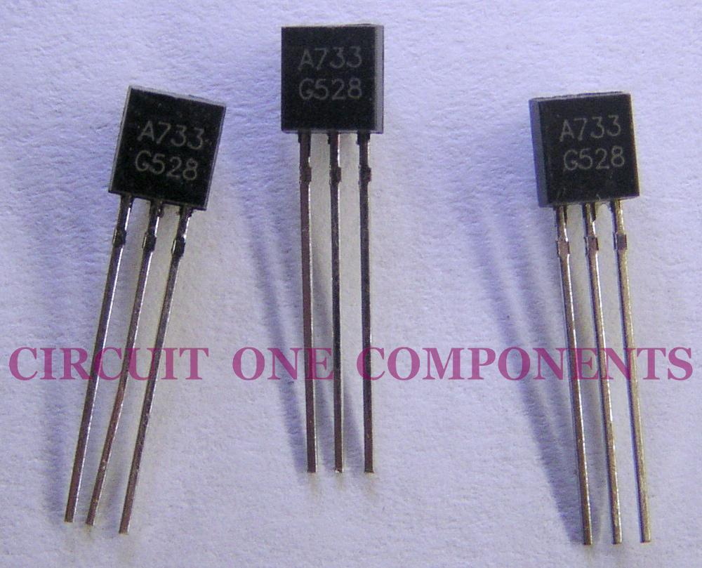 Electronic Component - 2SA733 Transistor - each