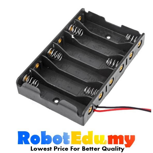Electronic Component- Double A 6*AA 6xAA 1.5v 9v Battery Holder Casing