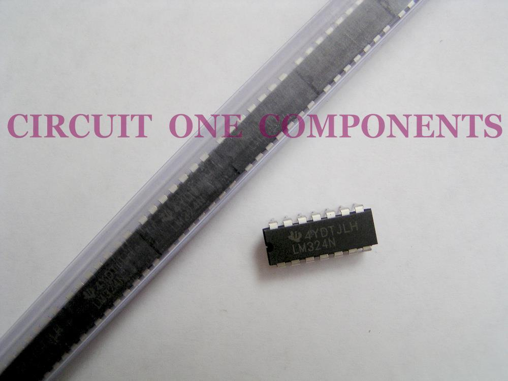 Electronic Component - LM324N Quad Op-Amp IC - each