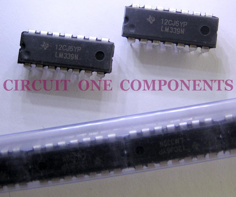 Electronic Component - LM339N Quad Comparator IC - each