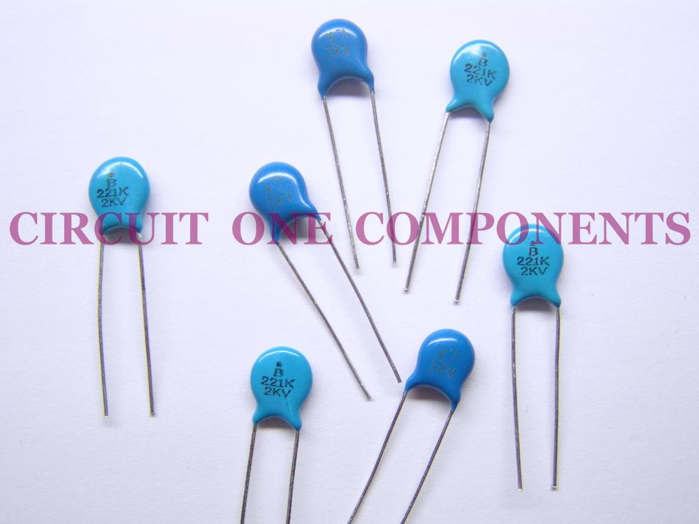 Electronic components kv pf cer end pm