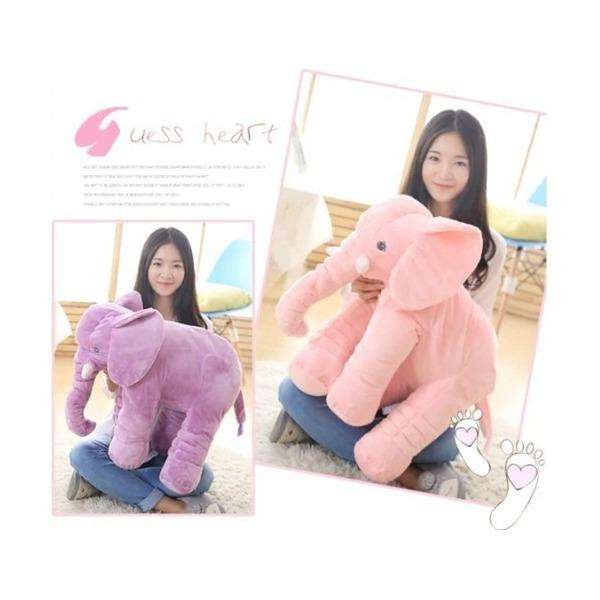 Elephant Plush Toy Pillow Quality Soft Cotton