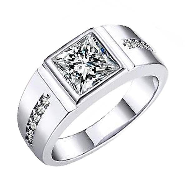 Elfi 925 Genuine Silver Couple Ring C57
