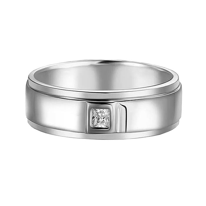 Elfi 925 Genuine Silver Engagement Ring R27 - The Oath Keeper