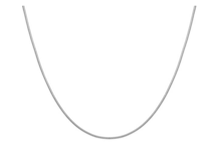 Elfi 925 Silver Snake Necklace Chain