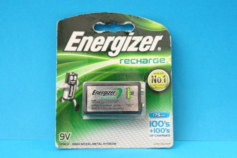 Energizer Recharge Battery 9V, NH22BP1-B