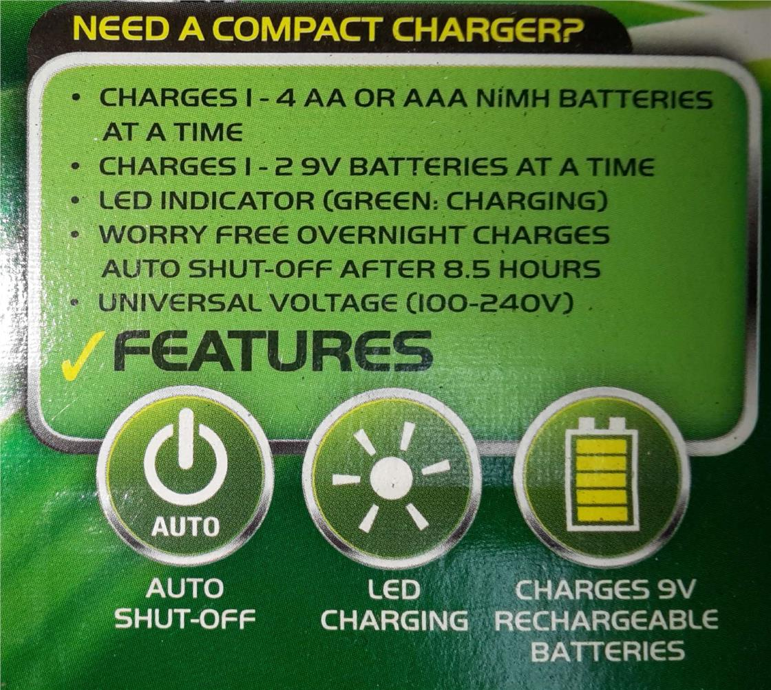 Energizer Recharge Compact