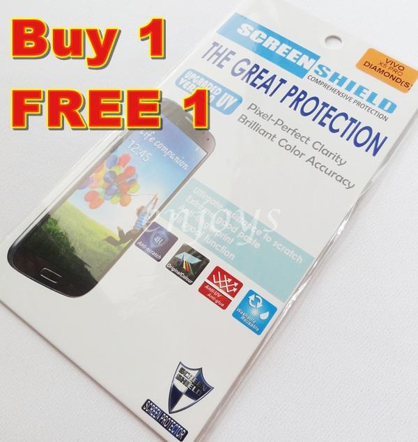 Enjoys: 2x DIAMOND Clear 4H LCD Screen Protector for Vivo X5 Pro