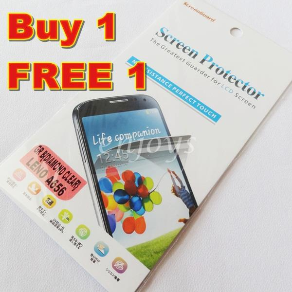 Enjoys: 2x DIAMOND Clear LCD Screen Protector for Lenovo A656