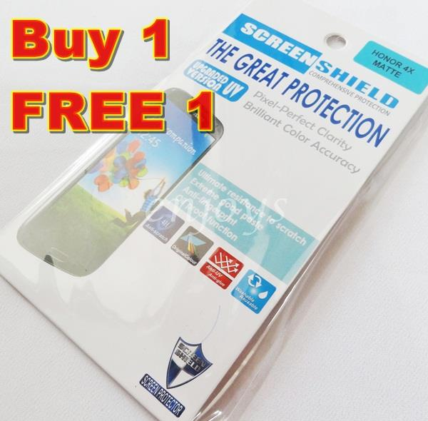 Enjoys: 2x MATTE AG LCD Screen Protector for Huawei Honor 4X