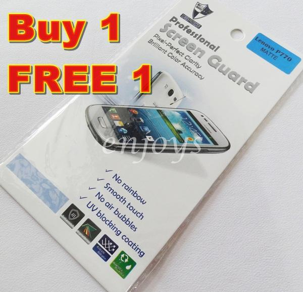 Enjoys: 2x MATTE AG LCD Screen Protector for Lenovo Ideaphone P770