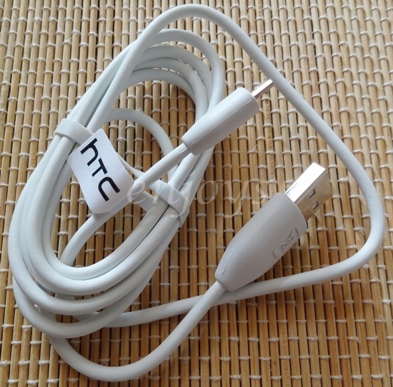 Enjoys: Genuine Data Charger Cable M410 HTC One M7 X SV Desire HD2 ~W