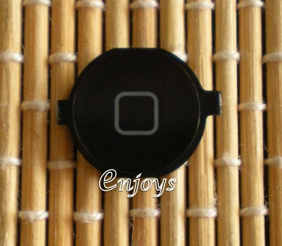 Enjoys: NEW Home Menu Outside Button Apple iPhone 3G 3GS 4 4G ~BLACK