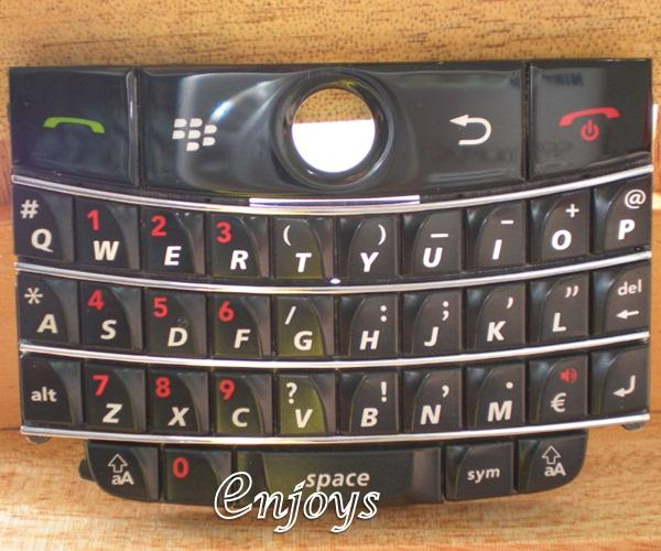 Enjoys: Keyboard Keypad BlackBerry Bold 9000 ~BLACK @Press like ORI