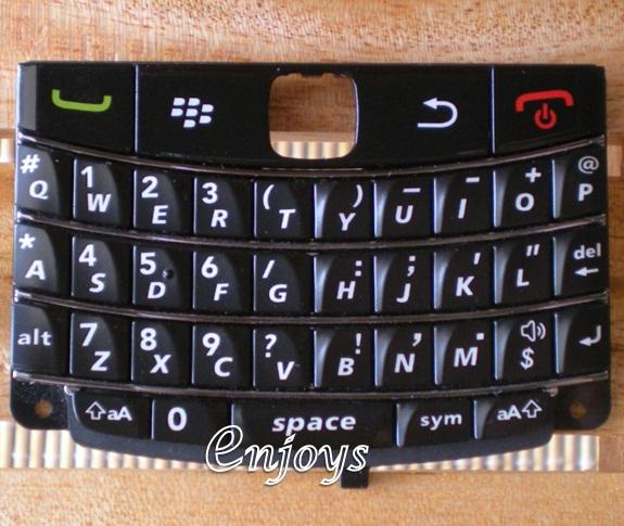 Enjoys: Keyboard Keypad BlackBerry Bold 9780 ~BLACK @Press like ORI