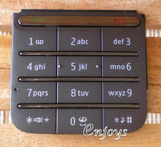 Enjoys: Keypad Part Nokia C3-01 Touch and Type ~GREY @Press like ORI