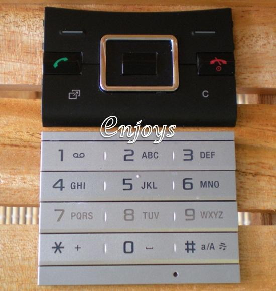 Enjoys: Keypad Part Sony Ericsson Hazel J20i ~BLACK @Press like ORI