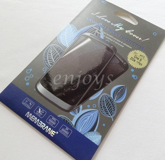 Enjoys: MEMBRANE Diamond Clear LCD Screen Protector HTC One S / Z520e