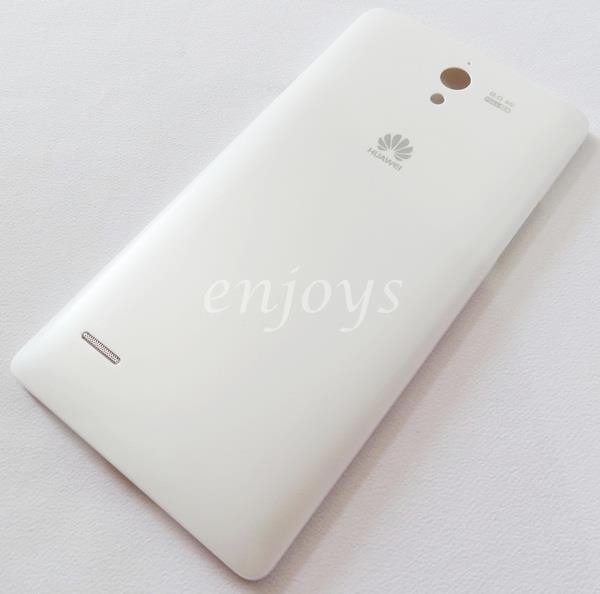 Enjoys: Real ORIGINAL HOUSING Battery Cover Huawei Ascend G700 ~WHITE