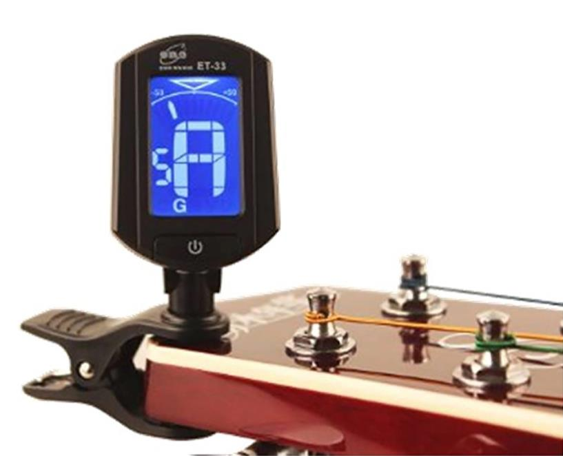 Eno ET33 Mini Clip Digital Tuner Violin Chromatic Tuner