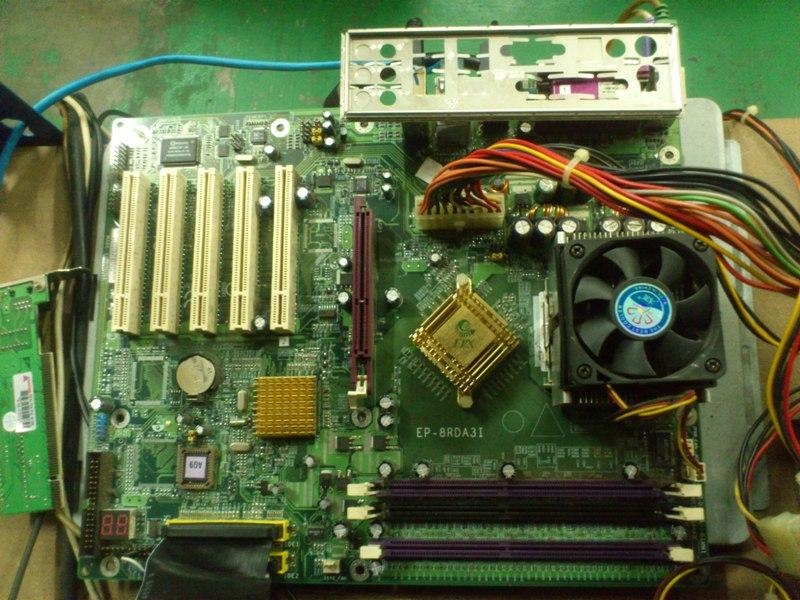 EP-8RDA3I AMD 462(socket A) Mainboard 290513