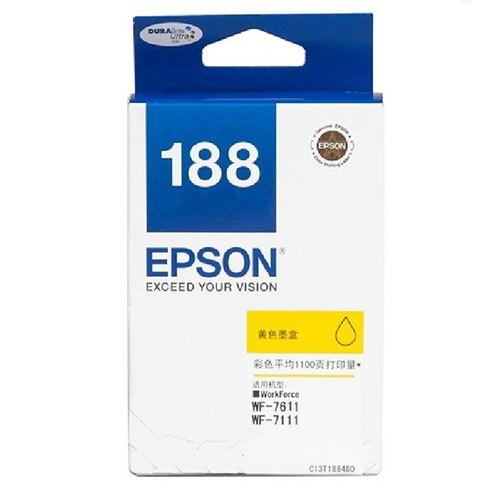 Epson 188 Yellow Ink Cartridge (Item No: EPS T188490)