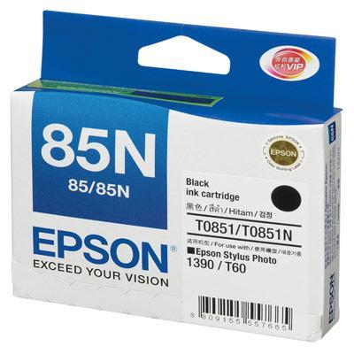 EPSON 85N BLACK INK CARTRIDGE