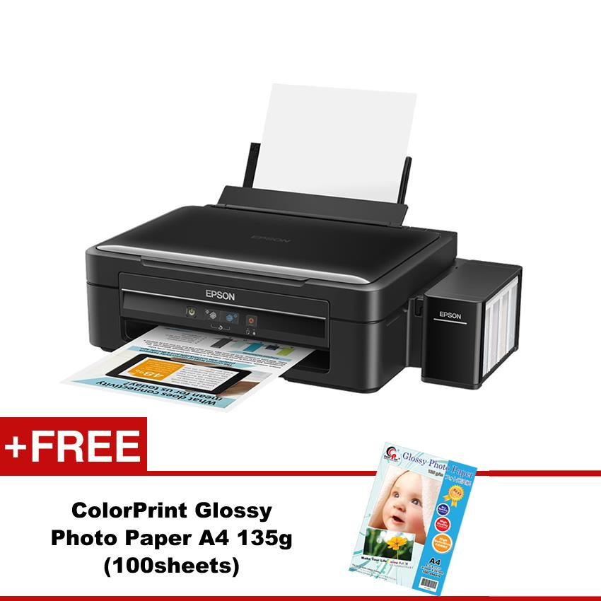 Epson L360 3-in-1(Print/Scan/Copy) Ink Tank System Printer Free PP135