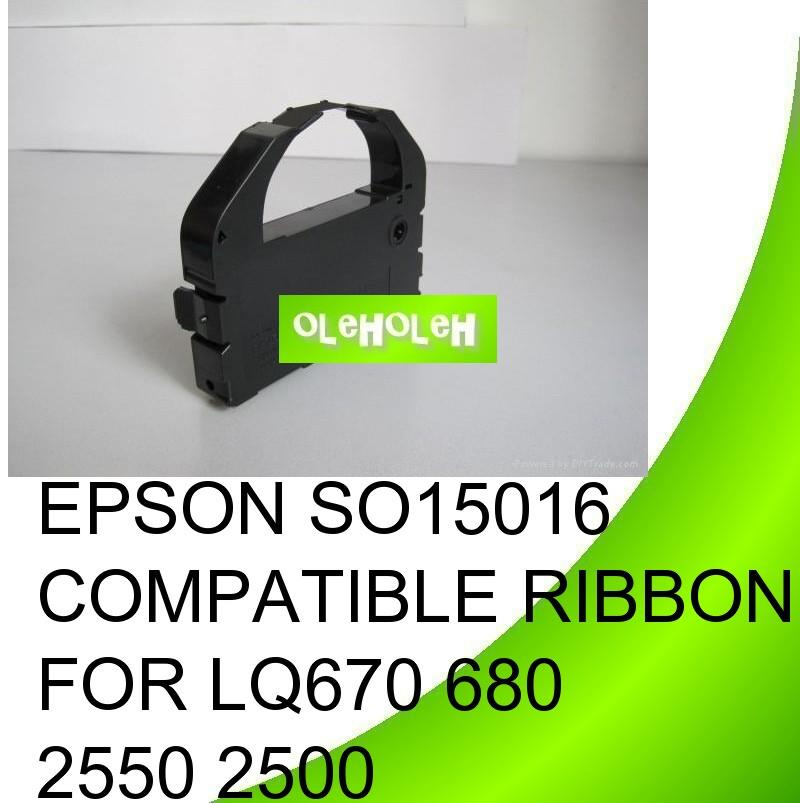 EPSON SO15016 Compatible Ribbon For LQ670 680 2550 2500