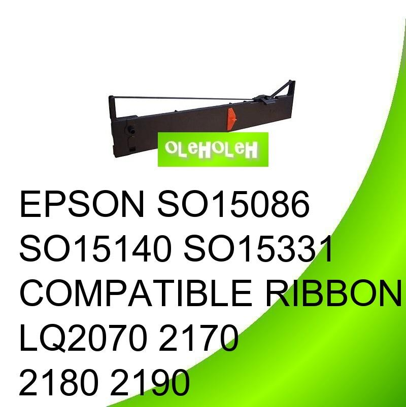 EPSON SO15086 SO15140 SO15331 Compatible Ribbon LQ2070 2170 2180 2190