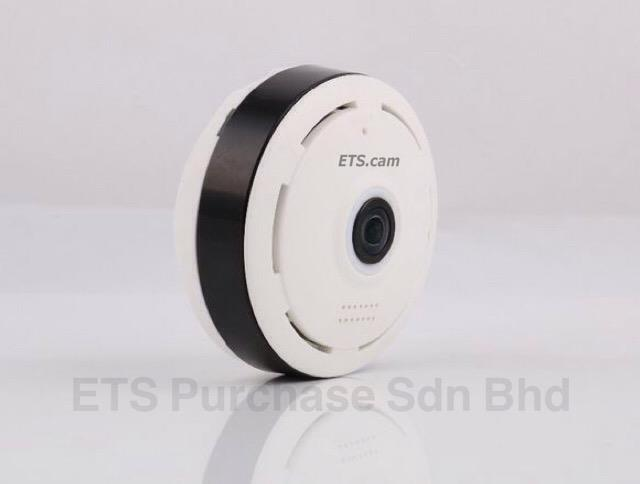 ETS.cam 1.3mp HD VR cam 360 Wireless Ip Camera with Alarm Siren