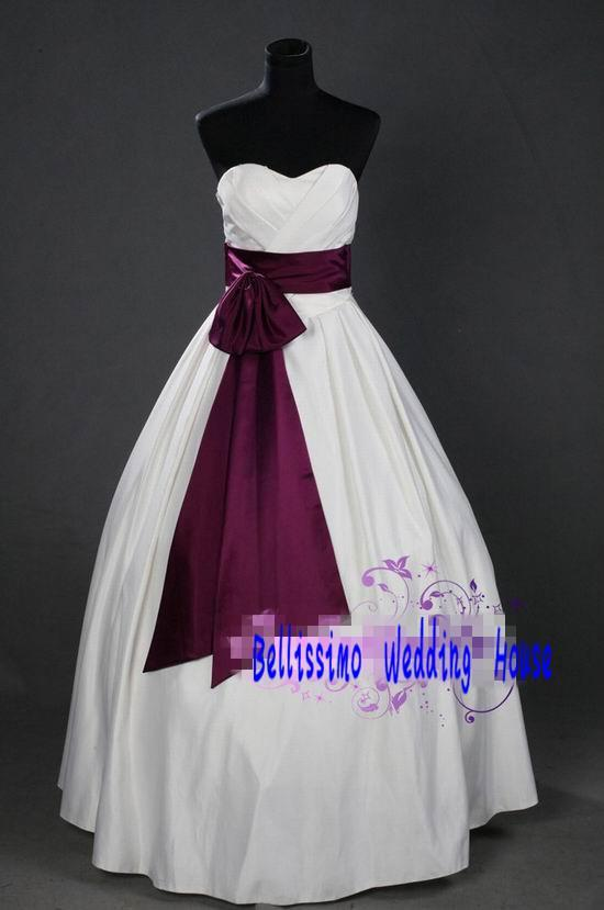 Europe Style Sweetie Elegant Sweethearts Collar Wedding Gown