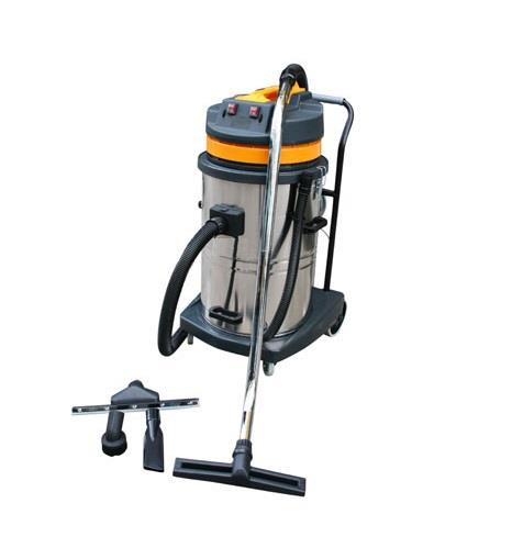 EuroPower 2000W 80Liter Industrial Vacuum Cleaner