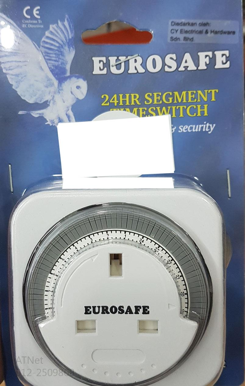 EUROSAFE 24HOURS SEGMENT TIME SWITCH CONTROLLER