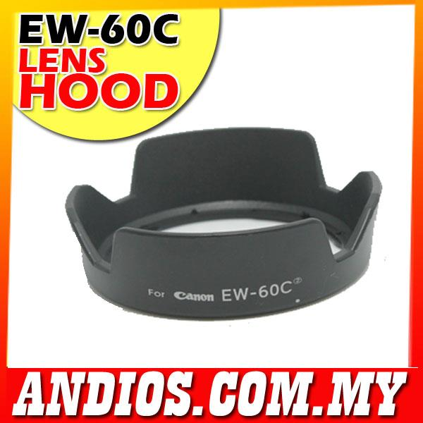 EW-60C Flower Lens Hood Canon 18-55mm IS 28-80mm EW60C Camera Part