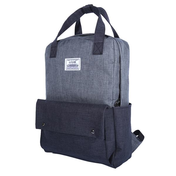 Exteam New Korea Backpack Canvas Backpack 16˝ Laptop Travel Backp..