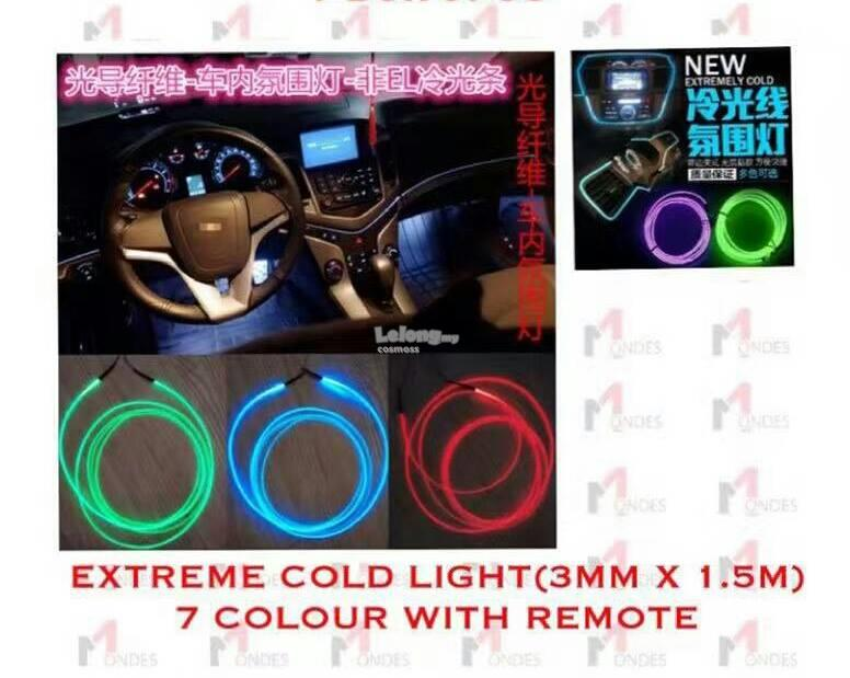 EXTREME COLD LIGHT(3mm x 1.5m)7 COLOUR WITH REMORE