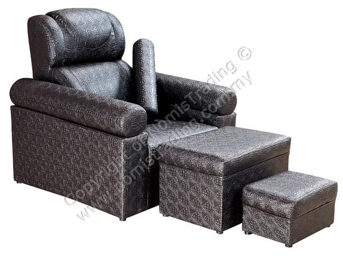 F128 PU Leather Premium Foot Massage Chair/  Medicure Pedicure Chair