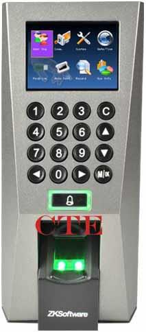 F18 Fingerprint RFID  Door Access and Time Atendance ZKTime5.0 s
