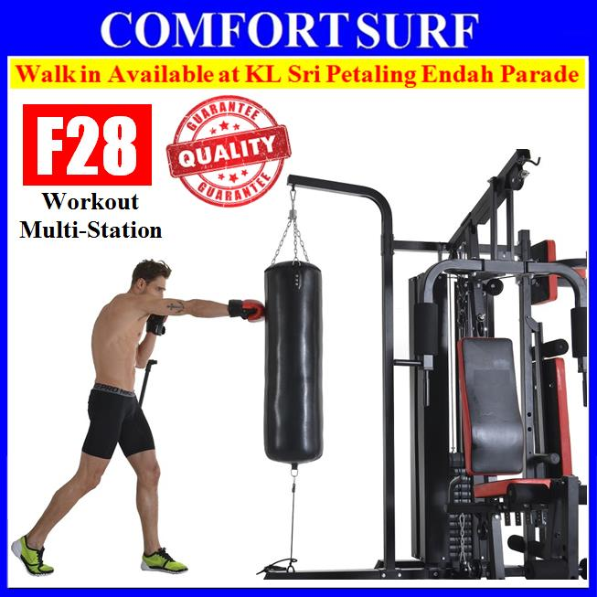 F28 Solid 210KG Gym Fitness Multiway Station Press Machine ABs Workout