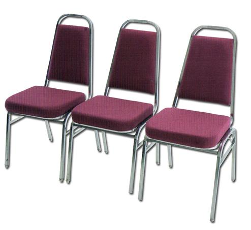 F906C 3-seater Link Chair