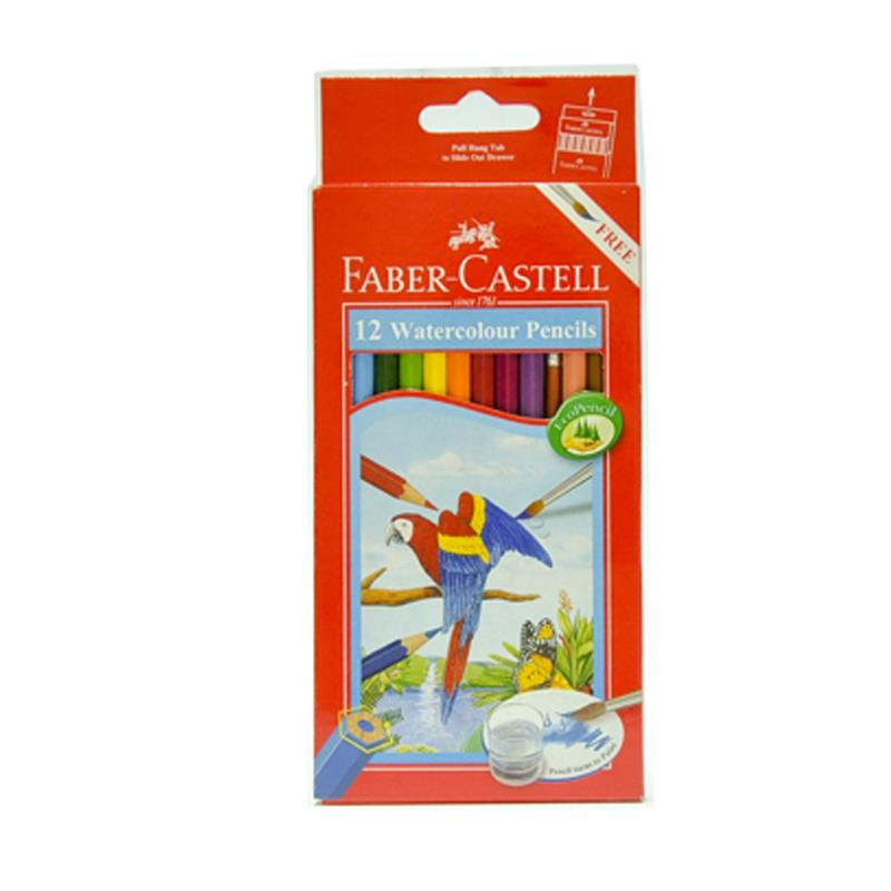 Faber Castell 12L Water Colour Pencil (Long)