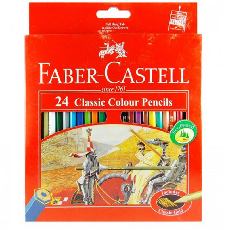 Faber Castell 24L Classic Colour Pencil (Long)